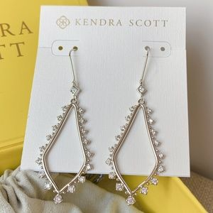 Kendra Scott Silver Bea Earrings